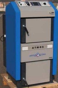 poza Cazan din otel cu gazeificare Atmos DC 100 S, 99 kw