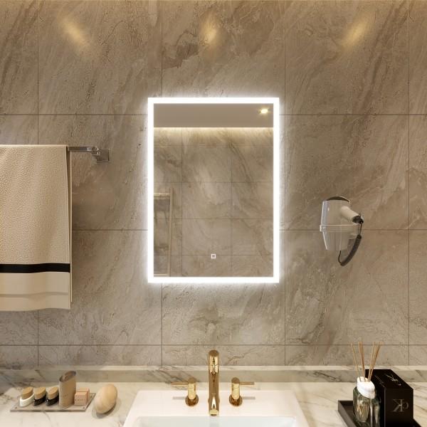 Poza Oglinda simpla cu iluminare LED Sanotechnik 60 x 80 cm ZI316. Poza 16330