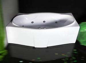 Poza Cada de baie Sardegna Model: 1800mm x 850mm/1050mm x 460mm. Poza 11013