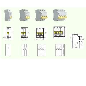 poza Intrerupator automat MCB BRL-6kA  25/1/C