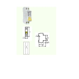 poza Intrerupator automat MCB 1M.4,5kA  25/1N/C  1 Modul