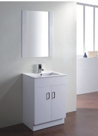 Mobilier de baie baza cu lavoar si oglinda
