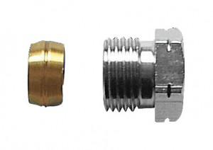 poza Conector pentru teava cupru cu garnitura metalica (Herz)