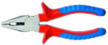poza Cleste compinat (patent) 160 mm rosu/albastru