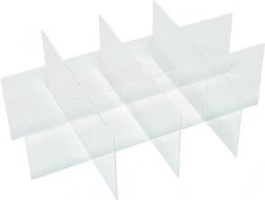 poza Set de cutii din plastic pentru sertare CARINA 60