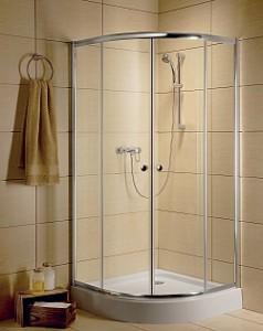 poza Cabina Dus Clasic A  900x900x1850 geam transparent