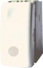 poza INTRERUPATOR MODULAR SIMPLU+LED ALB 1002 STILL